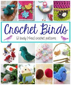 Fiber Flux: Crochet Birds! 12 Lovely Patterns...