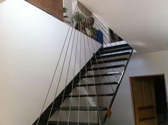 Treppen in Edelstahl | Edestahl | Treppengeländer