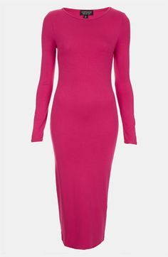 Topshop Body-Con Midi Dress available at Nordstrom