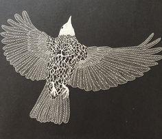 papercut art by Maude White