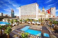 Excalibur Hotel  Located on the Las Vegas Strip