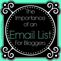 Why We Need To Build An Email List!  You want to get all of the eyes on your content marketing prize, don't you? You're not blogging simply to say you blog. Get that content in front of more eyes with smart email marketing!