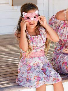 137-072014-DL Kleid mit Schulterrüsche