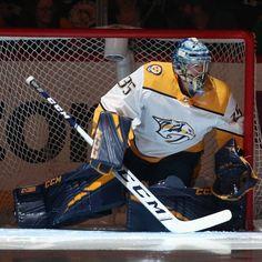 Peks new pads Goalie Pads, Goalie Gear, Predators Hockey, Hockey Memes, Pad Design, Sports Pictures, Boston Bruins, Hot Guys, Hot Men