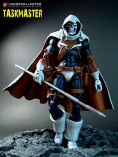Taskmaster custom figure by LooseCollector
