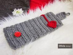 """Knitting Blog: Очень """"сердечные"""" грелки для кружки"""
