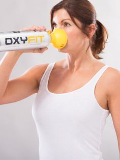 OXYFIT Oxygen in a can (15 litres) with inhaler cap