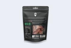 Savage Jerky Co. — The Dieline - Branding & Packaging Design Food Packaging, Brand Packaging, Packaging Ideas, Jerky Maker, Beef Jerky, Creativity And Innovation, Dog Snacks, White Brand, Packaging Design Inspiration