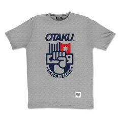 Tee-shirt logo #Otaku Major League by Otaku Gamewear