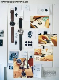Images for the L1 watch from #mauricedemauriac Swiss Watchmakers. http://mauricedemauriac.ch/ watches for men