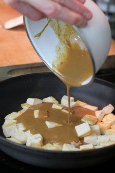 peanut sauce / tofu marinade