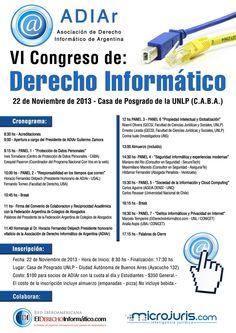 VI Congreso de Derecho Informático - ADIAr