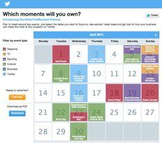 Twitter komt met Interactieve contentkalender voor iedereen! | Twittermania