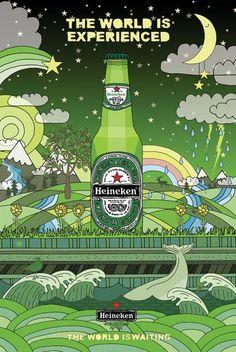 Heineken: The World is experienced