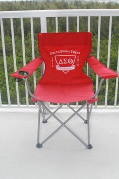 DELTA SIGMA THETA Sorority Folding Chair