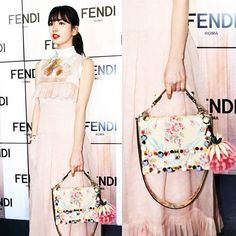 We spotted the beautiful @skuukzki at Fendi earlier today donning the all new Kan I bag. #fendifw17 #mfw #fendi #suzy #kpop #korean  via MARIE CLAIRE MALAYSIA MAGAZINE OFFICIAL INSTAGRAM - Celebrity  Fashion  Haute Couture  Advertising  Culture  Beauty  Editorial Photography  Magazine Covers  Supermodels  Runway Models