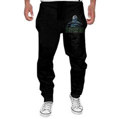 Unisex Teens A Tribe Called Quest Logo Elastic Music Band Fans Daily Sweatpants for Boys Gift with Pockets