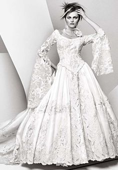 St. Pucchi - oldies but goodies  This was my St. Pucchi wedding dress with different sleeves