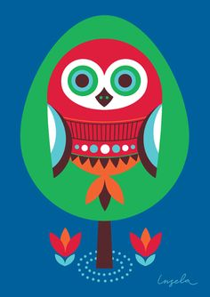 Ingela Peterson Owl