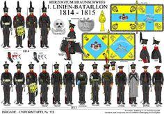 Brunswick 1st Line Infantry 1814-15