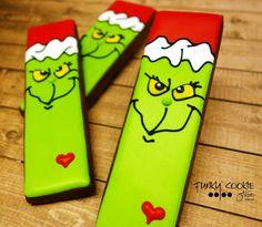 Grinch Cookies by JillFCS
