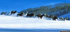 Celebrate Steamboat's anniversary and see the famous Cowboy Downhill. Steamboat Springs Colorado, Ski Vacation, Steamboats, Bucket List Destinations, Vacation Packages, Skiing, Travel Photography, Snow, Horses