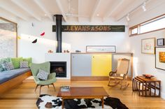 A Colorful House Thats Built in a Backyard in main interior design architecture  Category