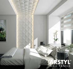 ARSTYL® Wall Panels Flower