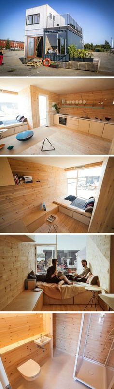 CPH Container Village  //  Tiny House Plans, Tiny House Plans, Small Bathroom Ideas, Small Living Room Ideas, DIY Room Decor, Space Saving Furniture, Under Bed Storage, Inspirational Tiny House Tree Houses, Bed Risers Ideas, and even Shabby Chic Furniture Ideas #tinyhouses #tinyhousemovement #tinyhouseforus #tinyhouseplans #tinyhouseforus #tinyhome