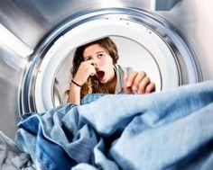 Machine à laver linge odeur