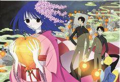 Tags: Anime, CLAMP, xxxHOLiC, Watanuki Kimihiro, Scan