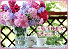 Good Morning Coffee Images, Good Morning Roses, Good Morning Good Night, Happy Friday Morning, Happy Day, Good Morning Google, Beautiful Day Quotes, Italian Greetings, Its Friday Quotes