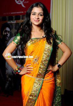 Beautiful Girl Indian, Most Beautiful Indian Actress, Beautiful Actresses, Best Blouse Designs, Bridal Blouse Designs, Saree With Belt, Stylish Sarees, Half Saree, Saree Collection