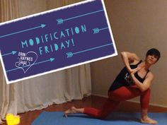 HAPPY MODIFICATION FRIDAY Today's Yoga video shows several modifications for Crescent Lunge Twist. This pose helps cultivate an open heart and balanced mind. It is definitely a more difficult pose, so start with these modifications and then in no time, you will be embracing the full pose! There is also a great prenatal option in the video. Twitter: stumbleuponme Instagram: Erin_Haynes_Yoga Facebook/erinhaynesyoga www.ErinHaynesYoga.com