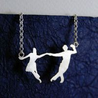Swing dance necklace!