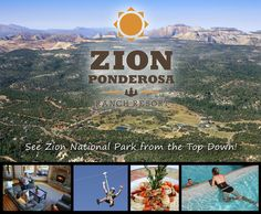 Zion Ponderosa Ranch Resort... This will be our home away from home for a whole week! cant wait!