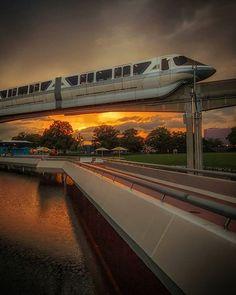 Sundowner #WaltDisneyWorld #wdw #epcot #epcotcenter #monorail #disneyparks #madetothrill