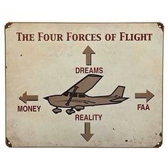 The 4 forces of flight #aviationhumorjokes