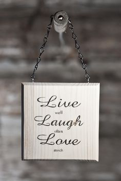 #iamaquote; live well laugh often love much