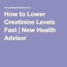 When considering how to lower creatinine levels fast, you can try ways like drinking more water, eating a healthy diet, limiting protein intake and herbal remedies. Food For Kidney Health, Healthy Kidney Diet, Healthy Kidneys, Kidney Foods, Diabetic Renal Recipes, Kidney Recipes, Stage 3 Kidney Disease, Kidney Disease Diet, Autoimmune Thyroid Disease
