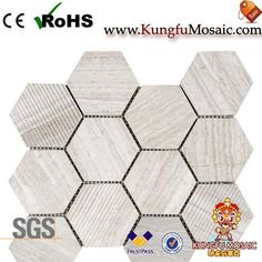 The Marble Mosaic Tile Backsplash often use for kitchen. That kind of product in rich patterns. Stone Mosaic Tile, Marble Mosaic, Travertine, Backsplash, Granite, Wood, Pattern, Woodwind Instrument, Granite Counters