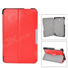 Protects your device from scratches, shock and dust; Can be folded as a stand, providing great angle for viewing, playing and typing; Convenient to use. http://j.mp/1ljGUD2