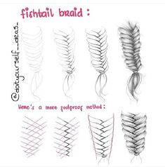 Fishtail braid #fishtailbraid