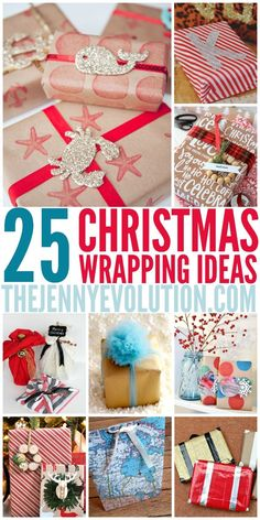 Christmas Wrapping Ideas - It's time to bring your A-game!