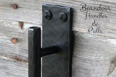 These rustic and beautiful handles will bring a unique look to any door. This listing is for ONE door pull. Our beautiful wrought iron door pull handles are made from 3/4 square or round material. These door pulls are intended for indoor use. You can add a clear coat if using outside (we suggest purchasing the flat black finish for this) Available as 12 inch or 16 inch Handles Long Back Plate or Two Square Plates Flat Black or Natural Iron Wax Finish. *Please note wax finish color can ...