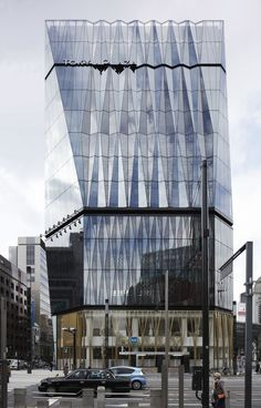 Prix Versailles Celebrates 12 Projects for Their Outstanding Commercial Architecture,Tokyu Plaza Ginza; Image © Koji Fujii, Nacasa & Partners Inc. Tokyo Architecture, Office Building Architecture, Building Facade, Commercial Architecture, Futuristic Architecture, Architecture Photo, Amazing Architecture, Contemporary Architecture, Building Skin