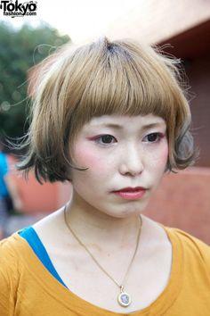 Tokyo Fashion: #hairdye #eyeshadow #harajuku