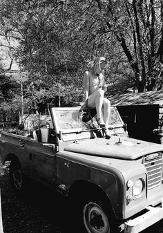 Hot chick on series 3 Titanic History, International Scout, Range Rovers, American Motors, G Wagon, Land Rover Defender, Series 3, Land Cruiser, Daughters