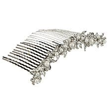 Row Of Pearls Hair Comb  Wedding day inspiration