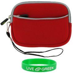 Save $ 14.83 order now rooCASE Neoprene Sleeve (Red) Case for Motorola MOTONAV T